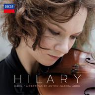 ヒラリー・ハーン、新作『アブリル:無伴奏ヴァイオリンのための6つのパルティータ』を配信とLPで発表
