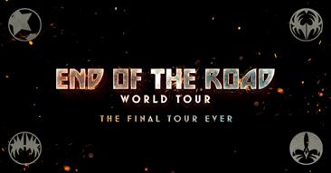 KISS来日か 〈END OF THE ROAD WORLD TOUR〉の日本特設サイトがオープン