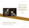 パトリック・ガロワ、瀬尾和紀とともに録音した『フランス・ロマン派ソナタ集』を発表