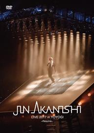 赤西 仁、代々木体育館でのスペシャル・ライヴ〈Résumé〉DVD&Blu-rayリリース