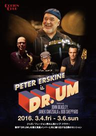 """ピーター・アースキンが""""ウェザー・リポートの2016年版""""をコンセプトにした新作を携え来日公演を開催"""