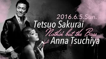 櫻井哲夫と土屋アンナ、ベースとヴォーカルのデュオによるライヴをモーションブルー横浜で開催