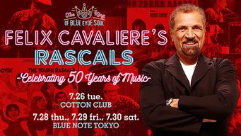 元ラスカルズ、フェリックス・キャヴァリエの来日公演がBLUE NOTE TOKYOにて開催中