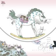 """妹尾美里、宇野亞喜良が描き下ろした""""猫ジャケ""""12inchヴァイナルをリリース"""