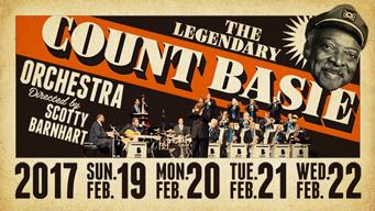 ベイシー・サウンドを奏でる名門ビッグバンド、レジェンダリー・カウント・ベイシー・オーケストラの公演が開催中