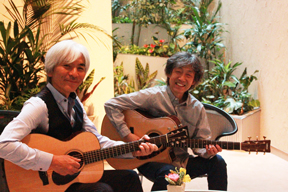 T-SQUARE の安藤正容と御厨裕二のギター・デュオanmi2(あんみつ)が新作をリリース