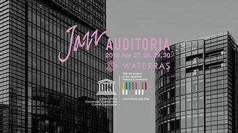 野外無料ジャズ・イベント〈JAZZ AUDITORIA 2018 in WATERRAS〉プログラム発表