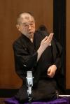 柳家小三治、12年ぶりのCD発売を記念し制作プロデューサー・京須偕充との対談イベントを開催
