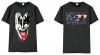 世界限定500着 KISS公式来日記念特殊加工限定モデルTシャツ発売
