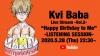 Kvi Baba、「流派-R since 2001」にインタビュー出演 新作EPの先行試聴も実施