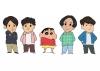 マカロニえんぴつとクレヨンしんちゃんがコラボ TVアニメ&漫画「えんぴつしんちゃん」にマカロニえんぴつが登場
