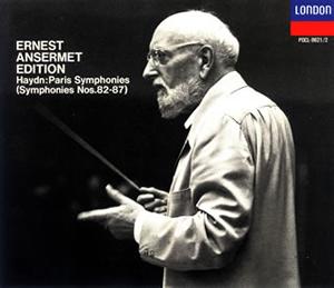 ハイドン:交響曲「パリ・セット」(第82番〜第87番) アンセルメ / スイス・ロマンドo. [2CD] [限定]