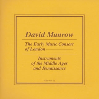 中世・ルネッサンスの楽器 マンロウ / ロンドン古楽コンソート [2CD]