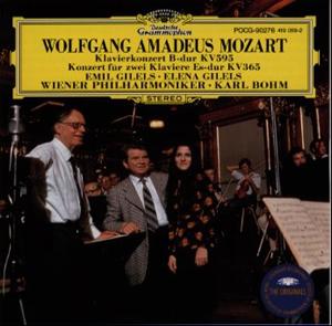 モーツァルト:ピアノ協奏曲第27番 / 2台のピアノのための協奏曲 ギレリス(P)ベーム / VPO [限定]