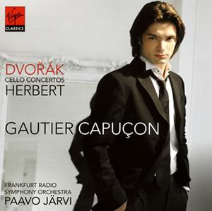ドヴォルザーク&ハーバート:チェロ協奏曲 カピュソン(VC) P.ヤルヴィ / フランクフルト放送so.
