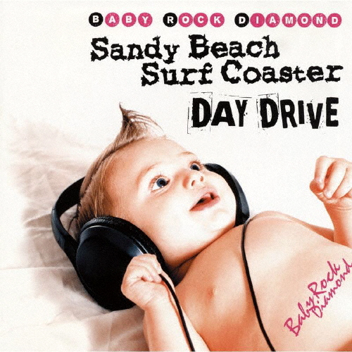 Sandy Beach Surf Coaster×DAY DRIVE / Baby Rock Diamond-SPLIT 01