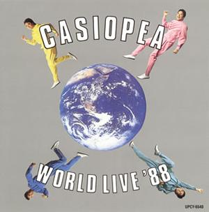 カシオペア / ワールド・ライブ'88 [SHM-CD] [再発]