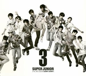 SUPER JUNIOR / 第3集 SORRY、SORRY [CD+DVD]