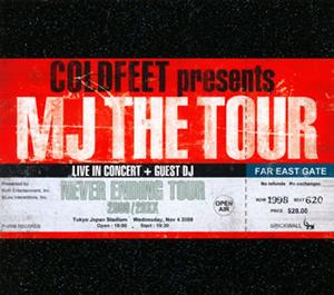 COLDFEET / MJ THE TOUR [デジパック仕様]