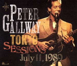 ピーター・ゴールウェイ / ピーター・ゴールウェイ・トーキョー・セッションズ 1989 [CD+DVD]