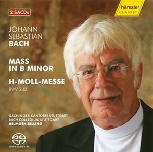 J.S.バッハ:ミサ曲ロ短調BWV232 リリング / ゲヒンガー・カントライ、バッハ・コレギウム・シュトゥットガルト 他