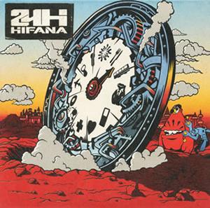 HIFANA / 24H [紙ジャケット仕様] [CD+DVD]