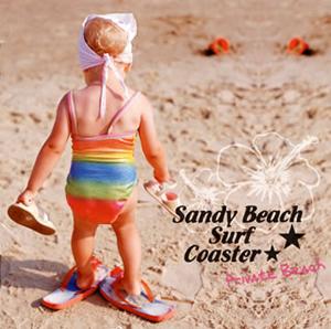 Sandy Beach Surf Coaster / PRIVATE BEACH