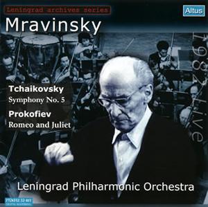 チャイコフスキー:交響曲第5番 / プロコフィエフ:「ロメオとジュリエット」第2組曲より ムラヴィンスキー / レニングラード・フィルハーモニーso.