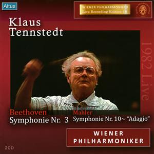 ベートーヴェン:交響曲第3番「英雄」 / マーラー:交響曲第10番〜アダージョ テンシュテット / VPO [2CD]