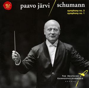 シューマン:交響曲第1番「春」&第3番「ライン」 P.ヤルヴィ / ドイツ・カンマーフィルハーモニー・ブレーメン [SA-CDハイブリッド]
