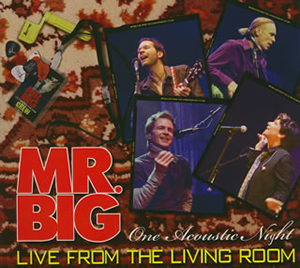 Mr big cdjournal for Mr big live from the living room