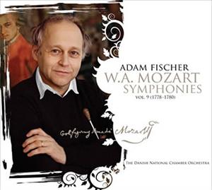 モーツァルト:交響曲集第9集 A.フィッシャー / デンマーク国立co. [SA-CDハイブリッド]