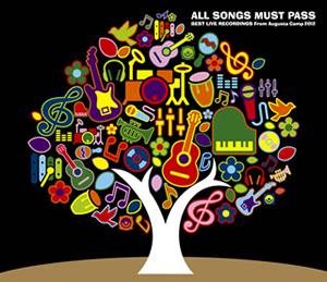 福耳+All Stars / ALL SONGS MUST PASS BEST LIVE RECORDINGS From Augusta Camp 2012 [2CD+DVD] [限定][廃盤]