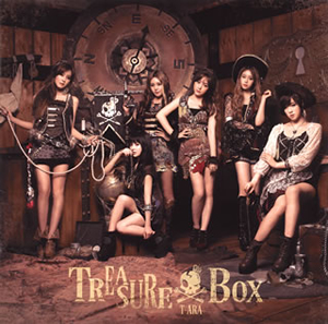 T-ARA / TREASURE BOX(パール盤)