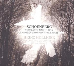 シェーンベルク:「浄夜」 / 室内交響曲第2番 / ヴェーベルン:弦楽のための緩徐楽章 ホリガー / ローザンヌco. [デジパック仕様]