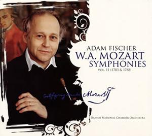 モーツァルト:交響曲集第11集(1783-1788年作曲) アダム・フィッシャー / デンマーク国立co. [SA-CDハイブリッド] [デジパック仕様]