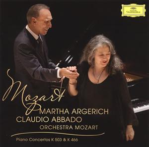 モーツァルト:ピアノ協奏曲第20番&第25番 アルゲリッチ(P) アバド / モーツァルトo. [SHM-CD]