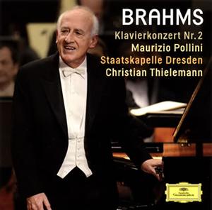 ブラームス:ピアノ協奏曲第2番 ポリーニ(P) ティーレマン / シュターツカペレ・ドレスデン [SHM-CD]