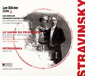 ストラヴィンスキー:バレエ音楽「春の祭典」・「ペトルーシュカ」 ロト / レ・シエクル [デジパック仕様]