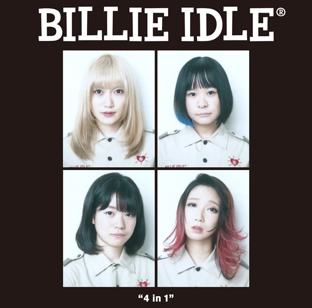 """BILLIE IDLE(R) / """"4 IN 1""""THE OFFICIAL BOOTLEG"""