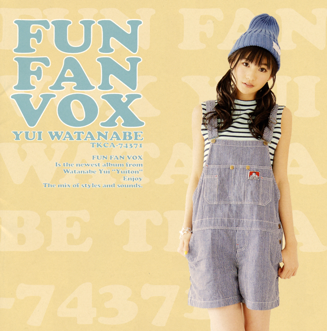 渡部優衣 / FUN FAN VOX [Blu-ray+CD] [限定]