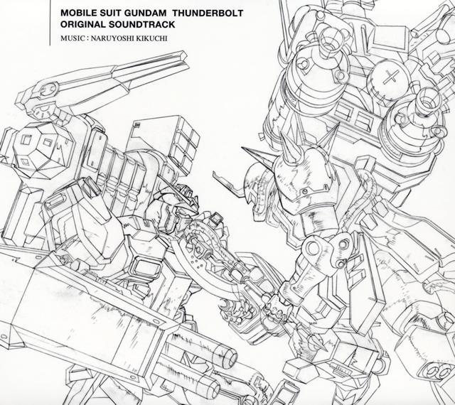 「機動戦士ガンダム サンダーボルト」オリジナル・サウンドトラック / 菊地成孔 [デジパック仕様] [Blu-spec CD2]