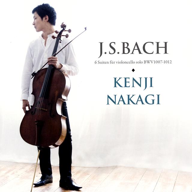 J.S.バッハ:無伴奏チェロ組曲(全曲) 中木健二(VC) [2CD]