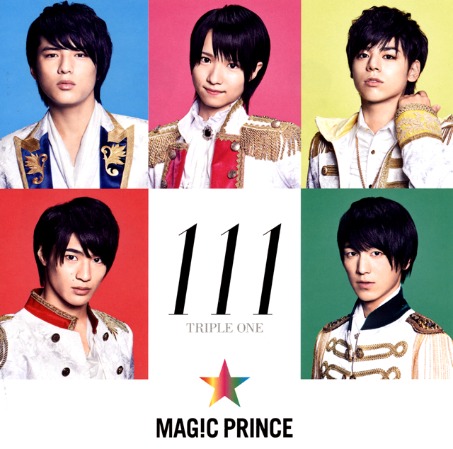 MAG!C☆PRINCE - 111 TRIPLE ONE [CD]