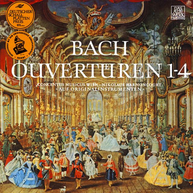 J.S.バッハ:管弦楽組曲(全曲)(1966年録音) アーノンクール / ウィーン・コンツェントゥス・ムジクス [2CD] [再発]