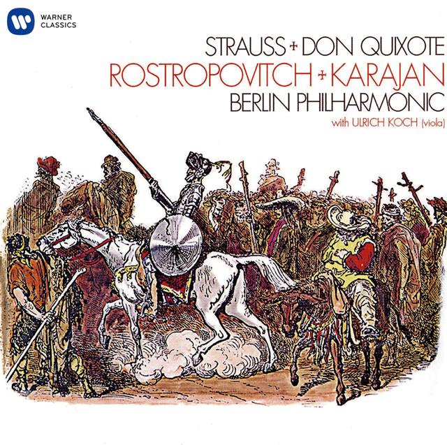 R.シュトラウス:交響詩「ドン・キホーテ」op.35 カラヤン / BPO ロストロポーヴィチ(VC) 他