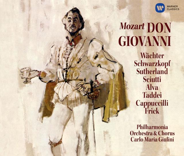 モーツァルト:歌劇「ドン・ジョヴァンニ」(全曲) ジュリーニ / PO&cho. シュヴァルツコップ(S) ヴェヒター(BR) 他