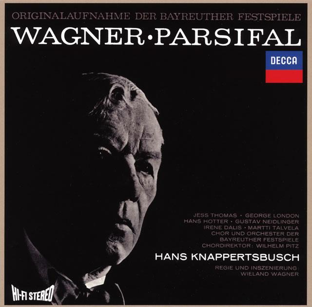ワーグナー:舞台神聖祝典劇「パルジファル」(全曲) クナッパーツブッシュ / バイロイト祝祭o. トーマス(T) 他  [限定]