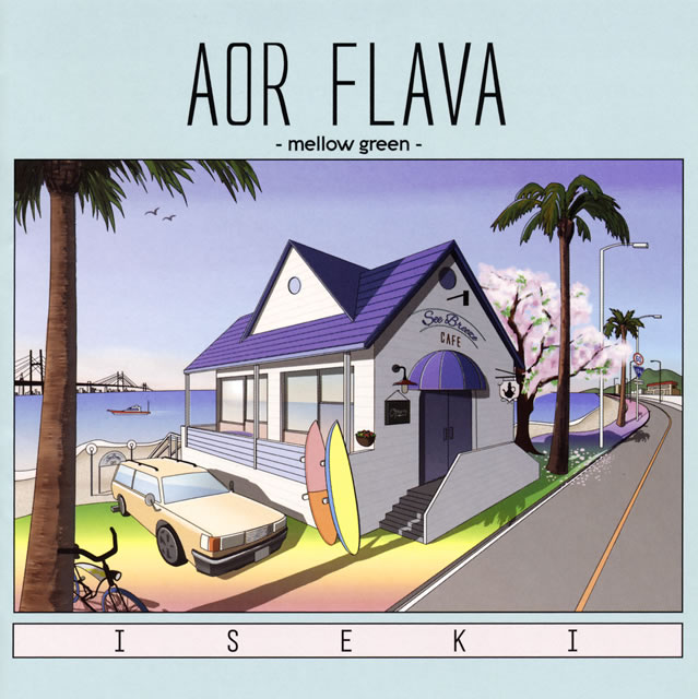 ISEKI - AOR FLAVA-mellow green- [CD]