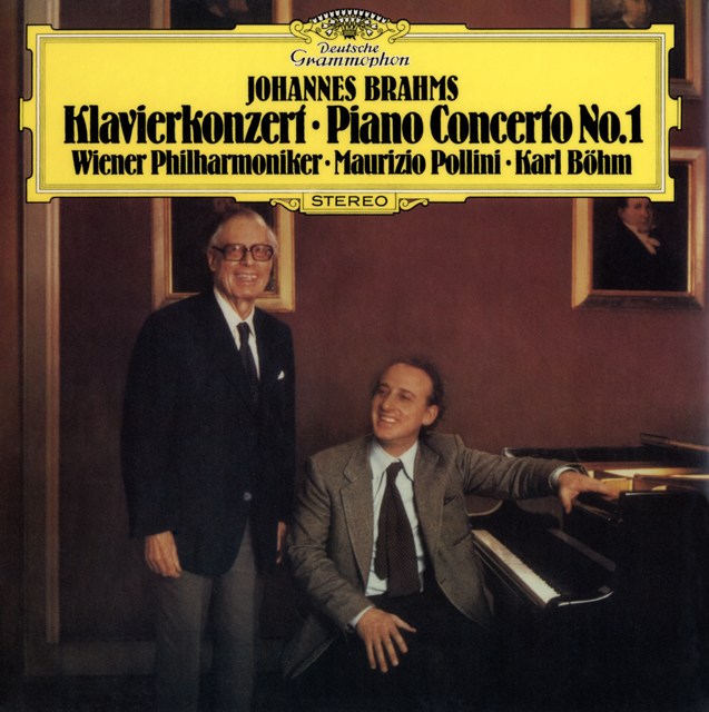 ブラームス:ピアノ協奏曲第1番 ポリーニ(P) ベーム / VPO [紙ジャケット仕様] [限定]